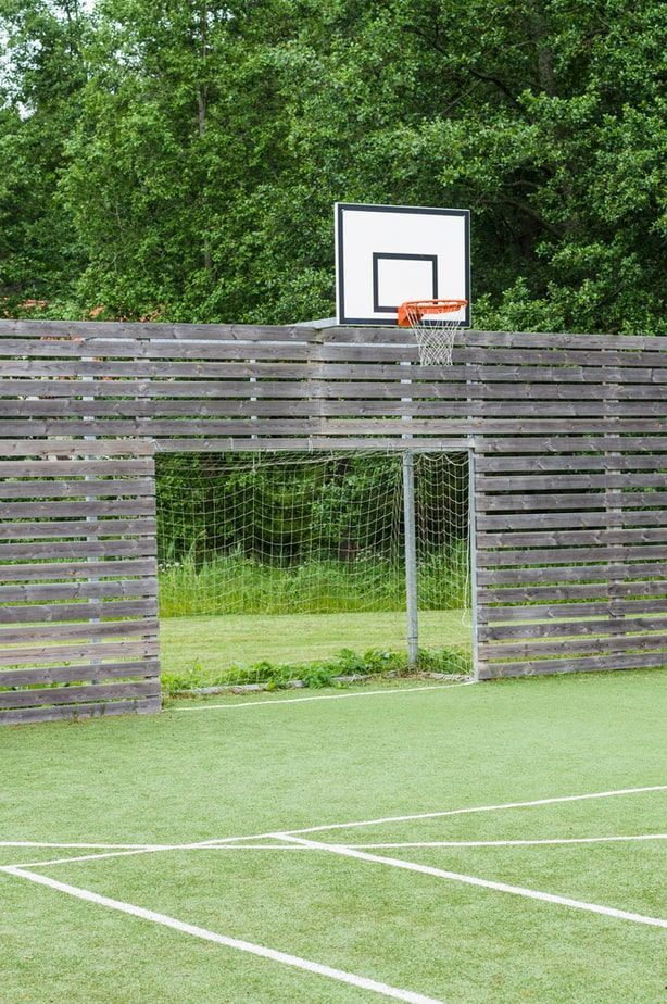 21 Backyard Basketball Court Ideas, Layouts, And Images To ...