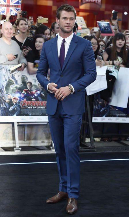 Chris Hemsworth de Calvin Klein Itens Masculinos, Homem Moderno, Terno, Roupas  Masculinas, a408aabbf4