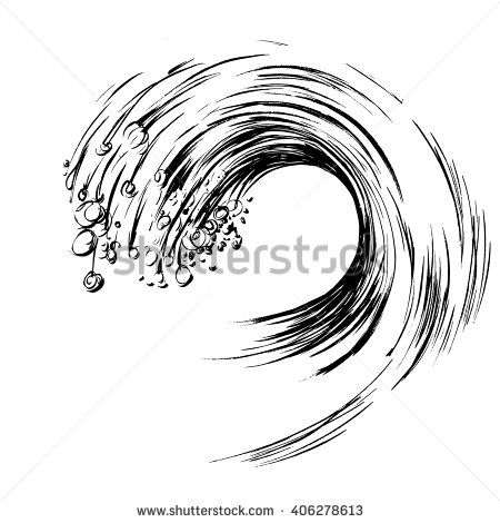 Stock Images similar to ID 105184262 - set vektor waves from element...