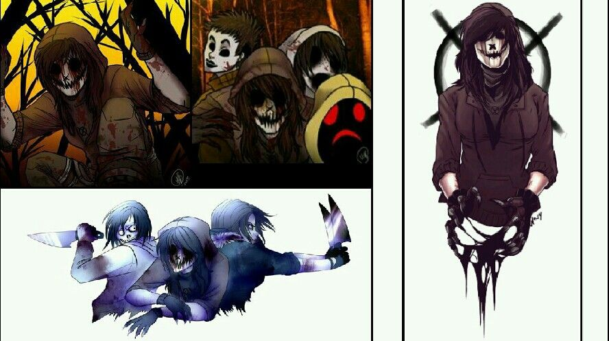 Creepypasta Wallpaper Of Rogue With Some Others There Didn T