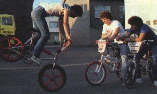 All The Boys And Many Girls Had Bmx Bikes And Popped A Wheelie