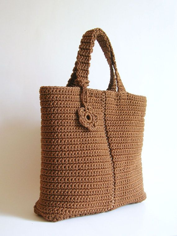 Crochet pattern for basic bag 2. With basic stitches von ChabeGS ...