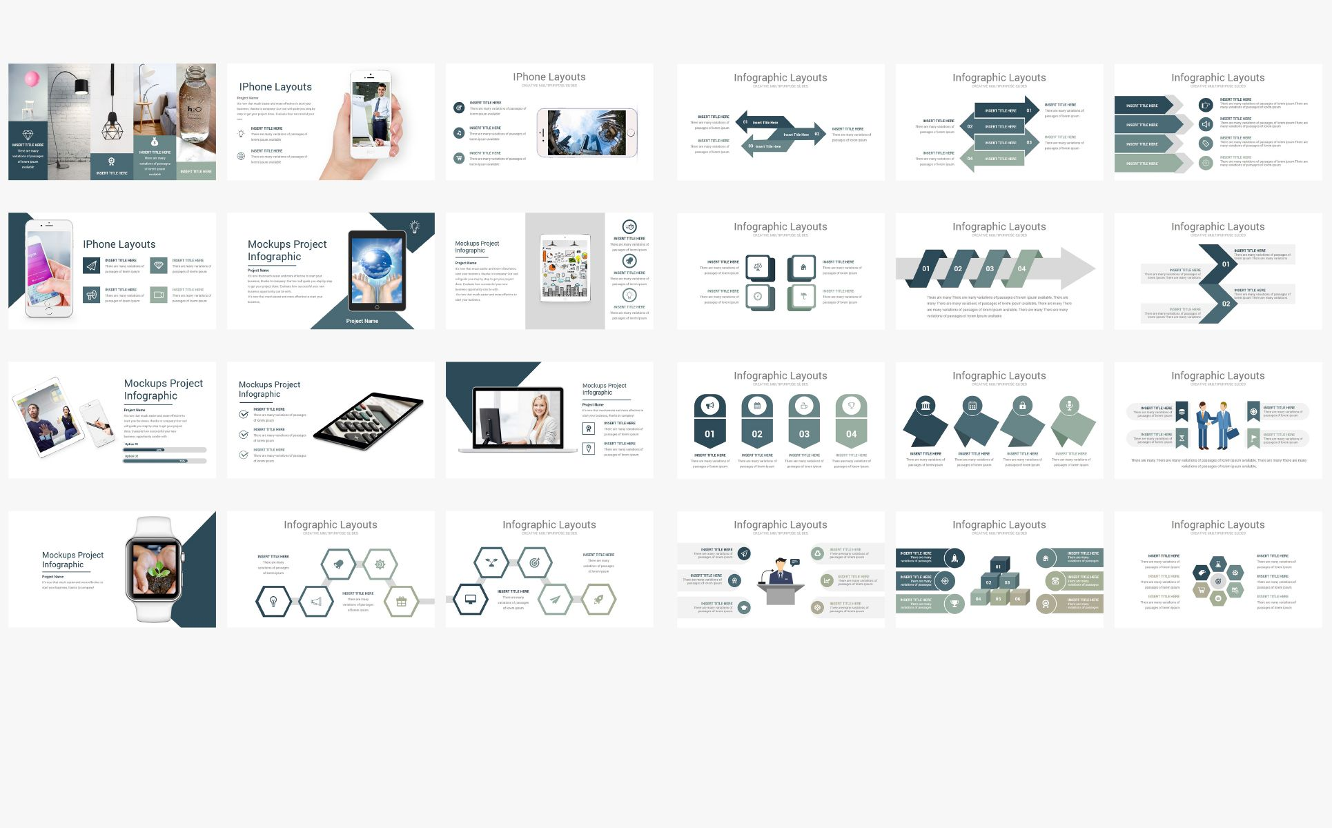 Minimal V2 Business Powerpoint Template 73222 Business
