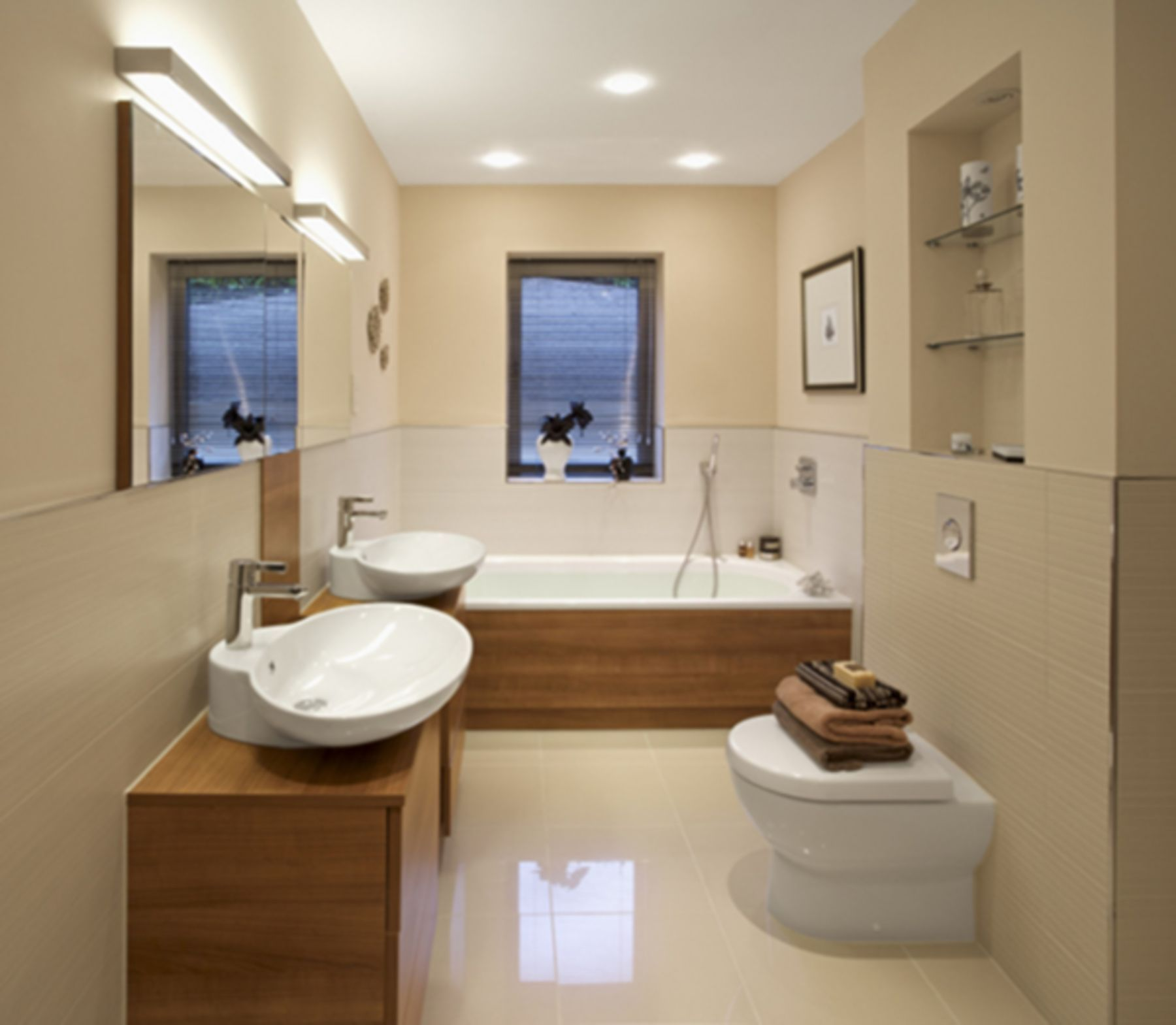 30 Awesome Modern Small Bathroom Designs For Small Home Ideas   Bathroom  design small modern, Cheap bathroom remodel, Contemporary small bathrooms