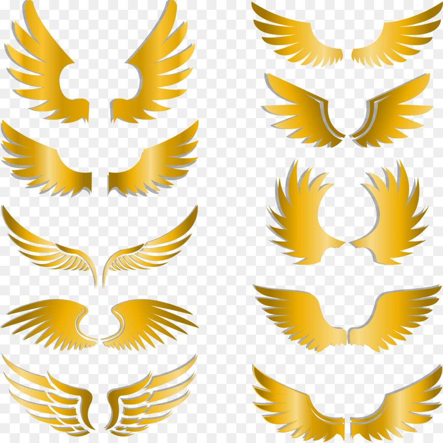 Clip Art Painted Gold Wings Png Download 2230 2225 Free Clip Art Wings Png Banner Background Images