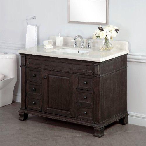 Lanza Wf6953 48 Kingsley 48 In Single Bathroom Vanity Single