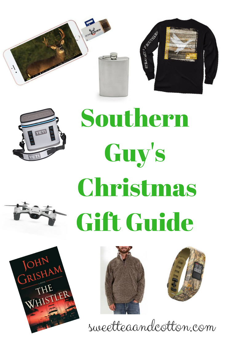Feeling Baffled About What To Get Your Southern Guy For Christmas Have No Fear This Gift Guide Will Ping Done In Time Flat