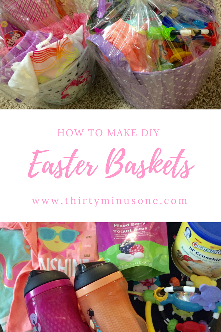 Diy easter baskets basket gift easter baskets and easter it is always hard to find easter baskets for infants and toddlers negle Image collections