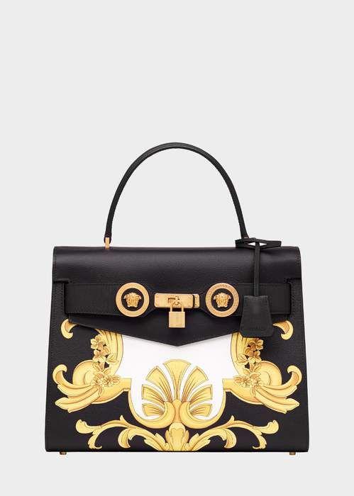 c99c7351ee Versace Large Barocco Print Icon Handbag | Versace | Versace bag ...