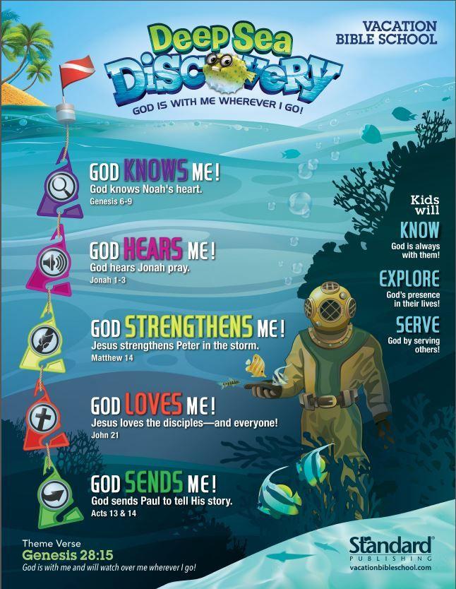 Vacation Bible School Craft Ideas Kids Part - 22: Vbs Themes · Vacation Bible School | Covenant Of Grace Church PCA