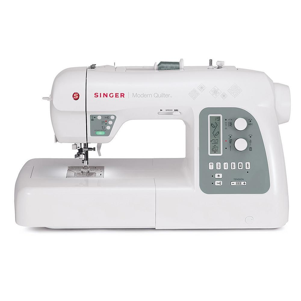 Modern Quilter 215Stitch Quilting/Sewing Machine, White