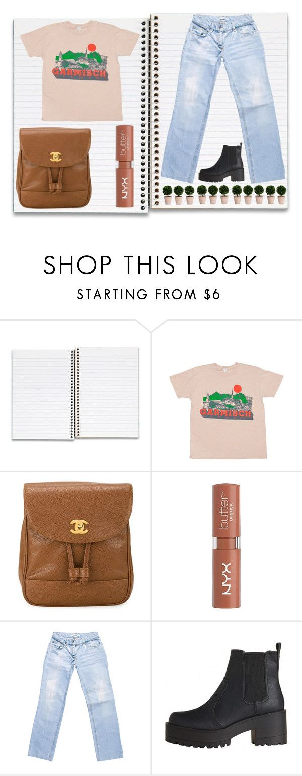 """Eight"" by naturestar ❤ liked on Polyvore featuring American Apparel, Chanel, NYX and Dolce&Gabbana"