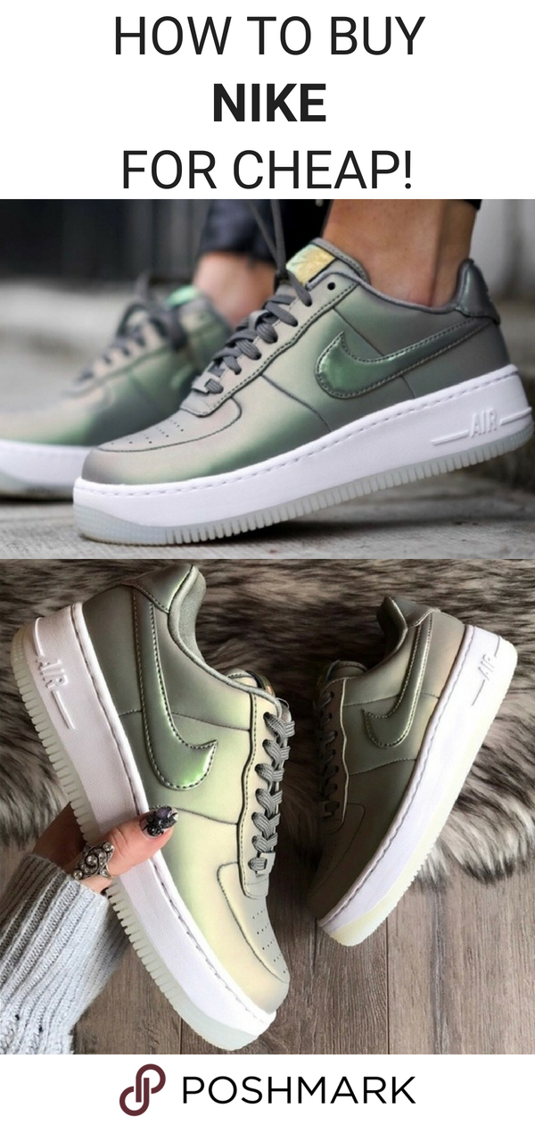 Buy pre owned Nike Air Force 1 sneakers for up to 70% off on