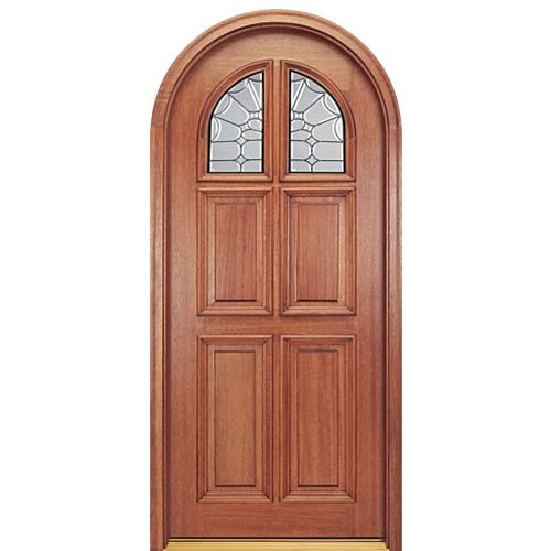 Mai Doors Rtg55 Patrician Prehung Full Radius Top Rail 6 Panel Door In Mahogany With Images Mahogany Entry Doors 6 Panel Doors Mahogany Doors