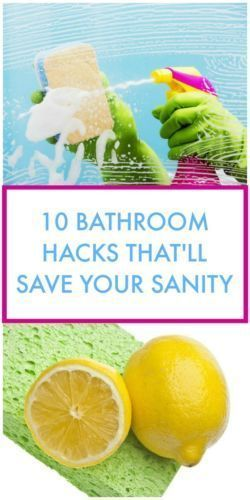 These BATHROOM HACKS will totally save your sanity (and time!)