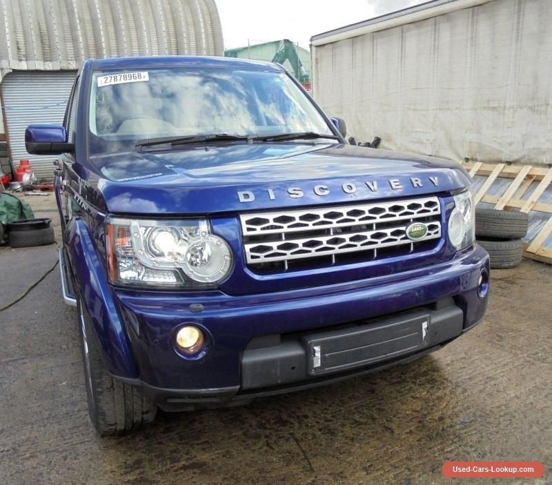 Land Rover Discovery 4 Complete Front End Off 3 0 Automatic Breaking Bali Blue Abarth Forsale Unitedkin Land Rover Discovery Land Rover Motorcycles For Sale