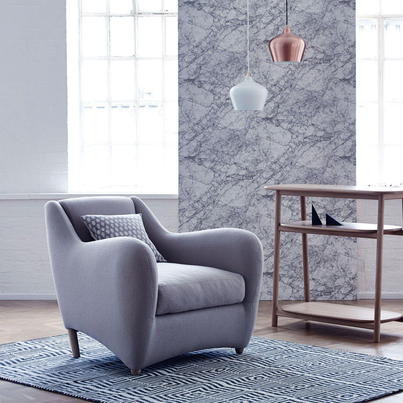 matthew hilton lounge chair. Heal\u0027s Sofas   Balzac Chair In Bute Melrose Stone Fabric By Matthew Hilton - Easy Chairs Lounge