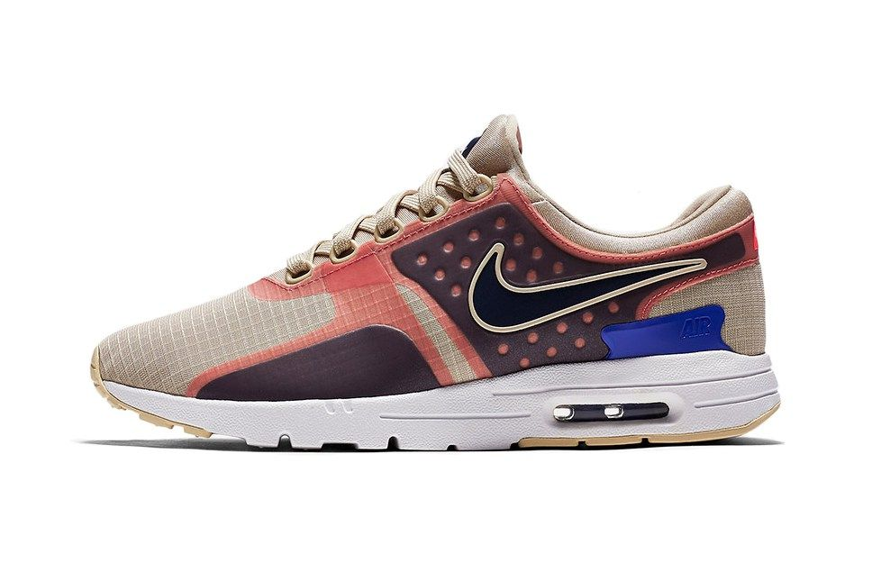Sweet Pink Accents Hit Nike's Newest Air Max Zero   clothes
