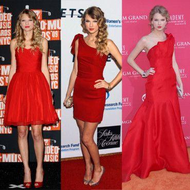 Jolie robe rouge