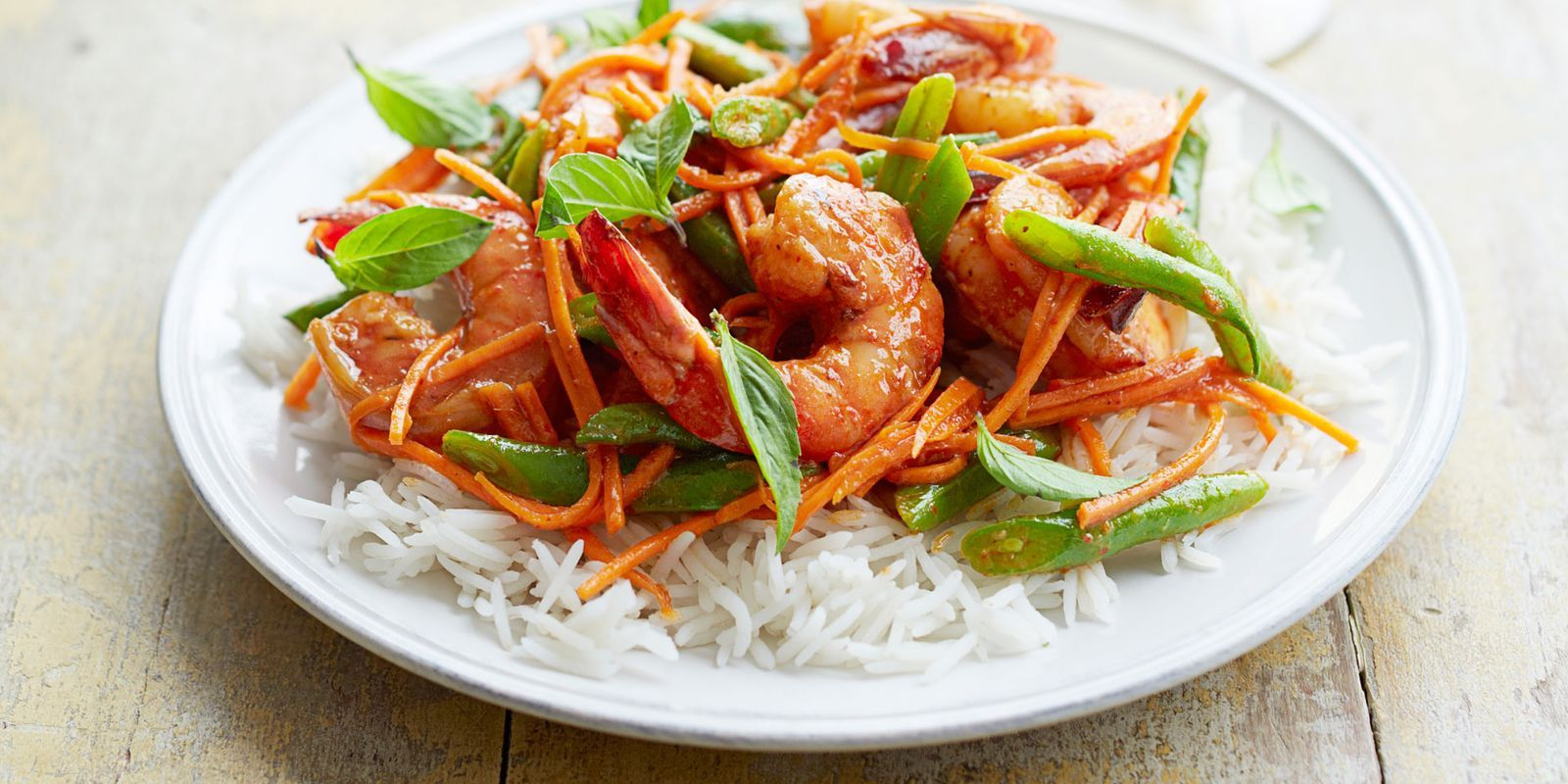 This quick and simple curry will have you enjoying a sweet-and-spicy Thai-inspired dish in mere minutes.