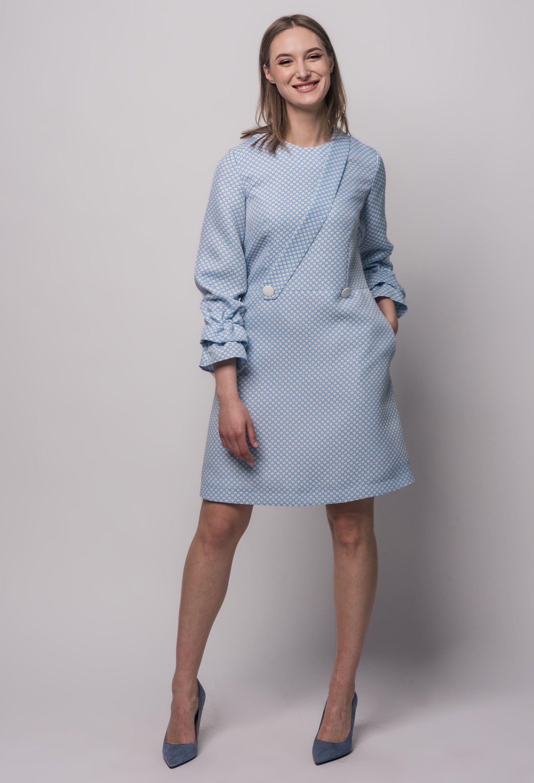 Sky Blue Dress Pastel Dress Classic Dress Long Sleeves Etsy Long Sleeve Dress Sky Blue Dress Classic Dress [ 3000 x 2045 Pixel ]