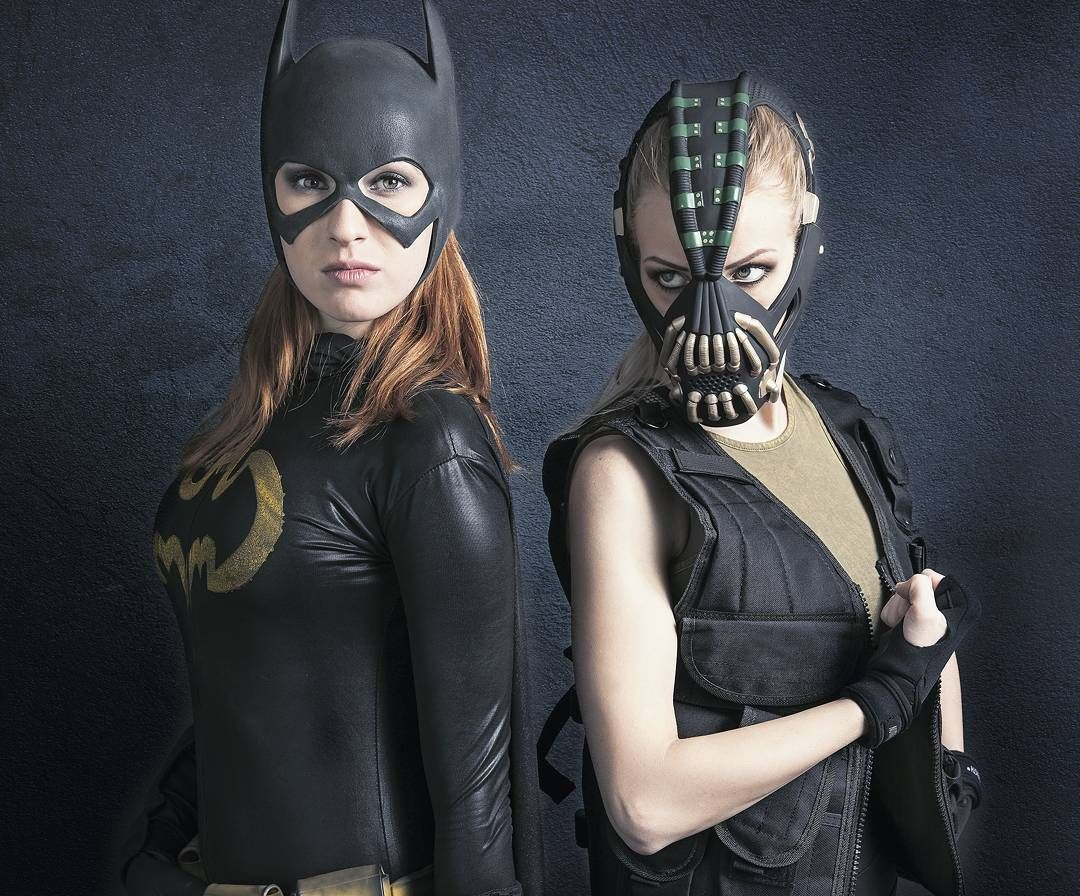 Bane: @lisa_jablonski Batgirl: @missmandykins Photographer ...