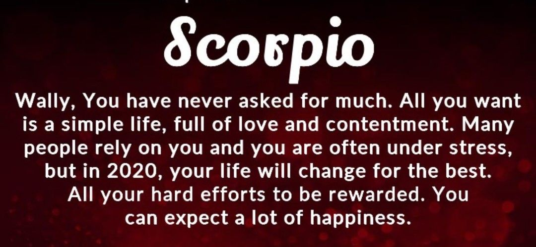 Pin by Lyluve on Scorpio | Stress, Simple life, Rely on