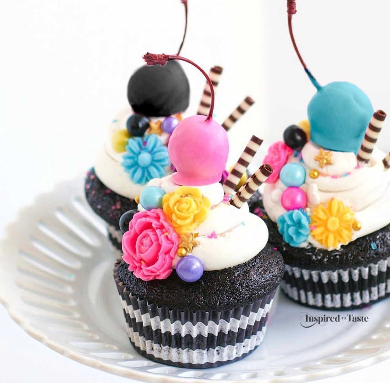 Pin by Brittany Skaggs on Recipes Creative cupcakes