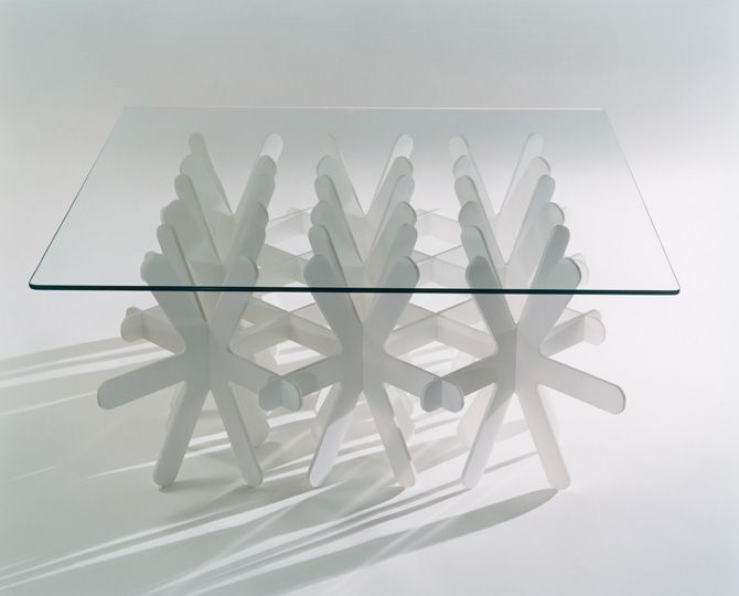 Snowflake table by  Oki Sato