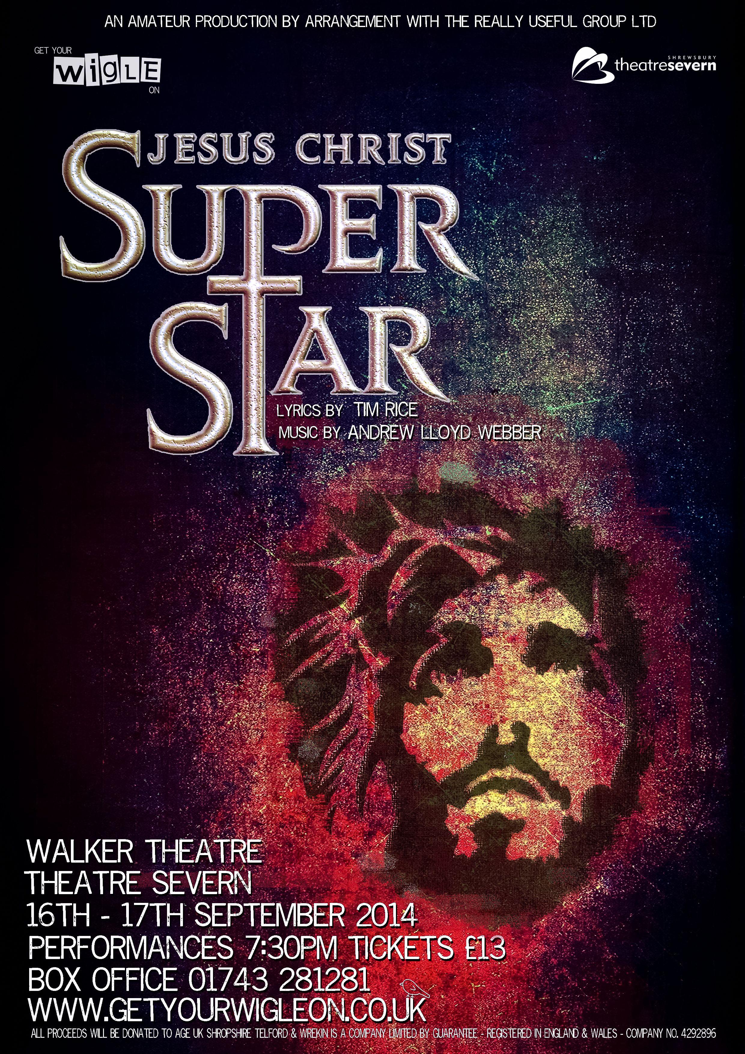 jesus christ superstar poster for get