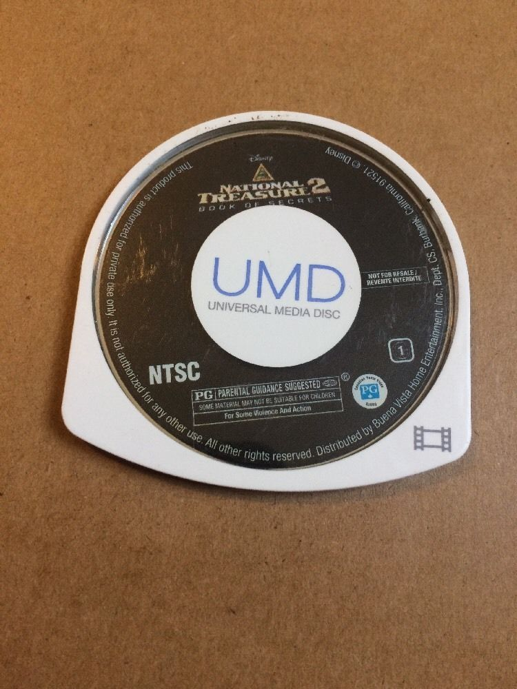 NATIONAL TREASURE 2 BOOK OF SECRETS FOR SONY PSP UMD