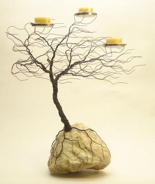 Wire Trees | boncuk agaclar | Pinterest | Baum des Lebens, Baum und ...