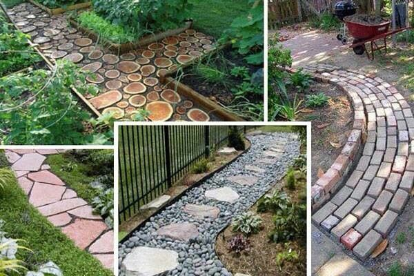 Contoh Desain Jalan Setapak Untuk Taman Minimalis Dibelakang Rumah
