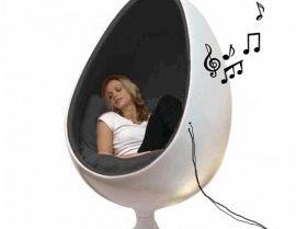 Eggchair Met Speakers Yes Klause Deco