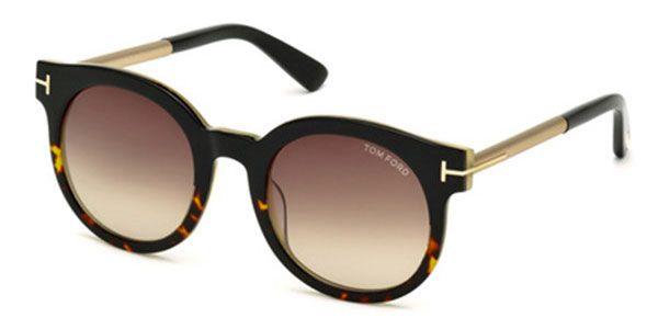 e47b7757962 Tom Ford FT0435 JANINA 01K Sunglasses