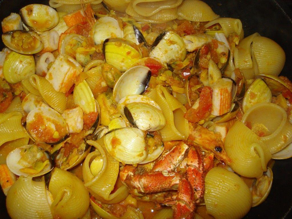Seafood pasta massada de marisco easy portuguese recipes seafood pasta massada de marisco easy portuguese recipes forumfinder Choice Image