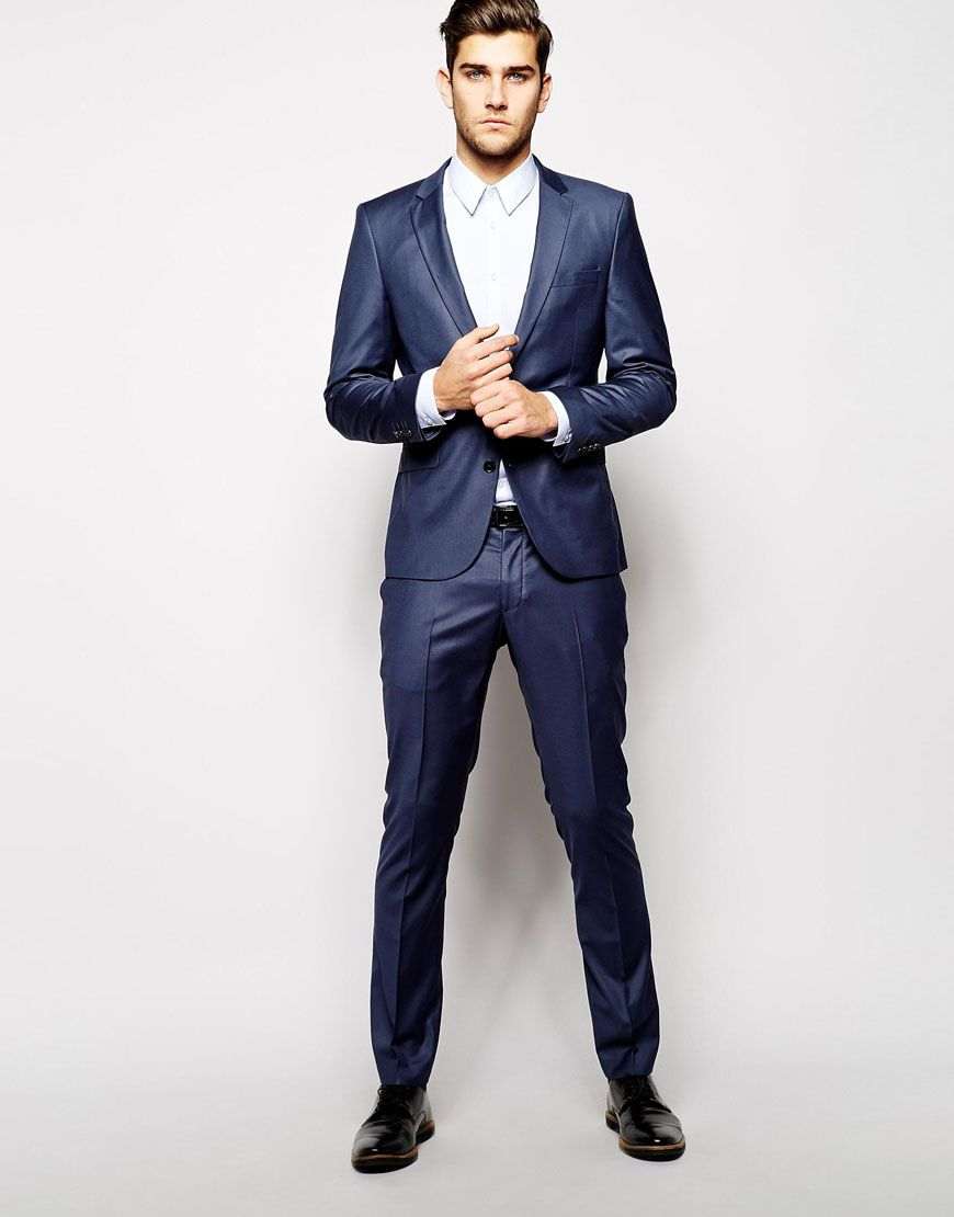 Selected Indigo Suit..smoke show | Sexy styles for men | Pinterest ...