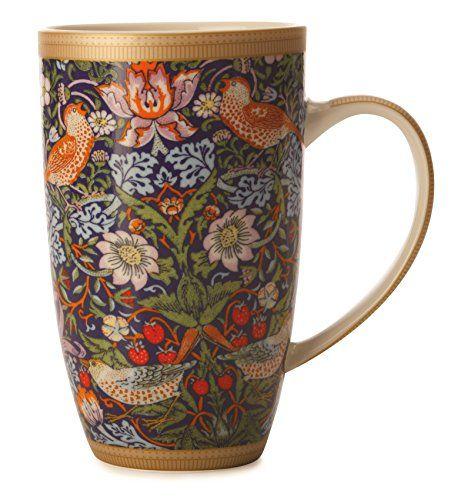William Morris Strawberry Thief Mug