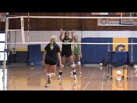 Blind Blocking Volleyball Drill Youtube Volleyball Drills Coaching Volleyball Volleyball Practice