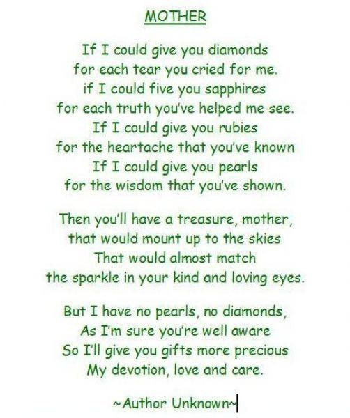 30 Touching Mothers Day Poems From Kids Mother Poems Mom Poems Mothers Day Poems