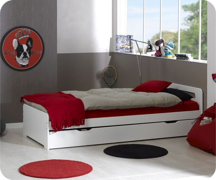 ausziehbett eden wei 90x200cm kinderbetten ausziehbetten kinder pinterest bett. Black Bedroom Furniture Sets. Home Design Ideas