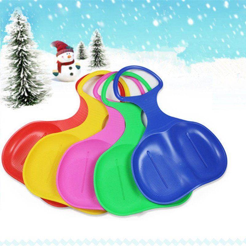 kayak on snow hill sled snow sand grass 5 colors snow board sleigh