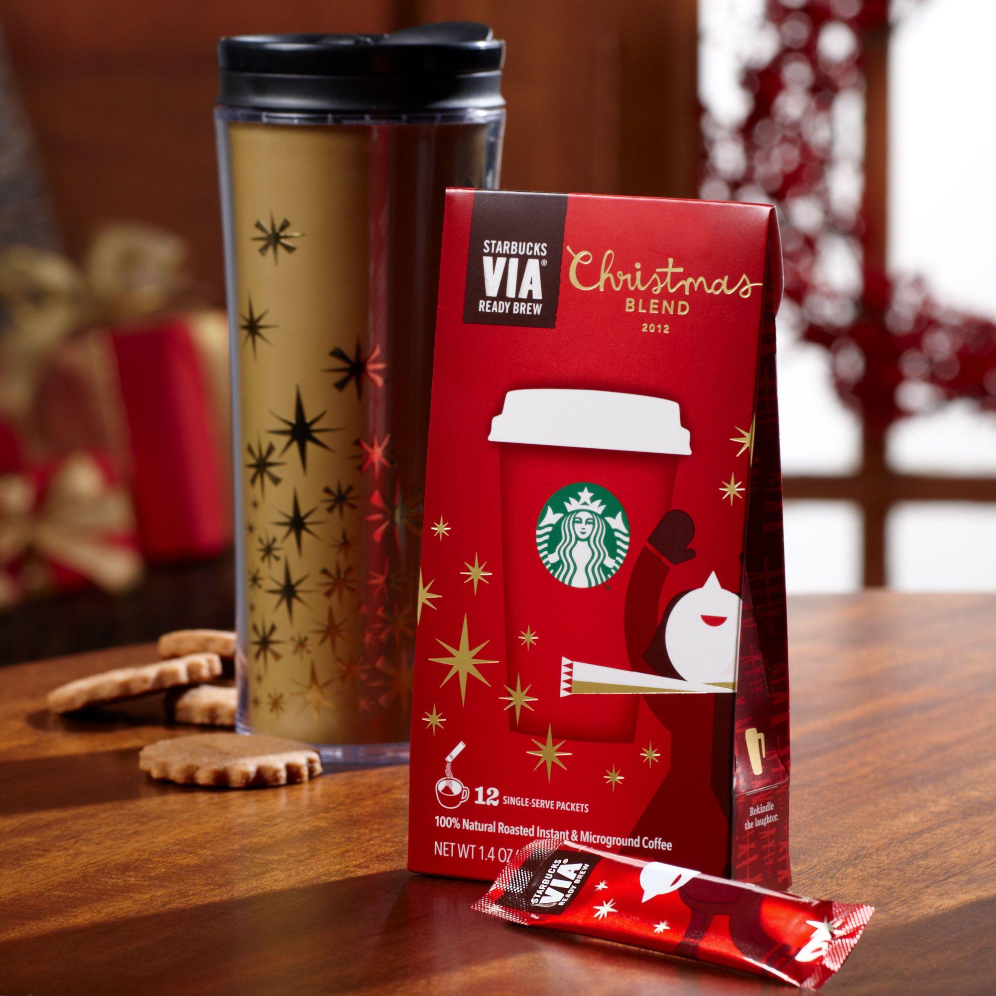 Starbucks VIA® Christmas Blend Starbucks christmas