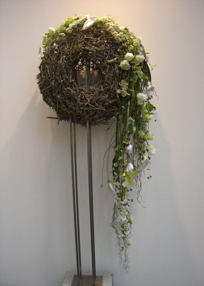 Kreative Gestaltungsidee Mit Kunstlichen Blumen Ams 10