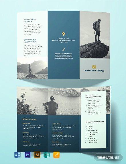 Publisher Brochure Templates Free Elegant Free Travel Brochure Template Download...