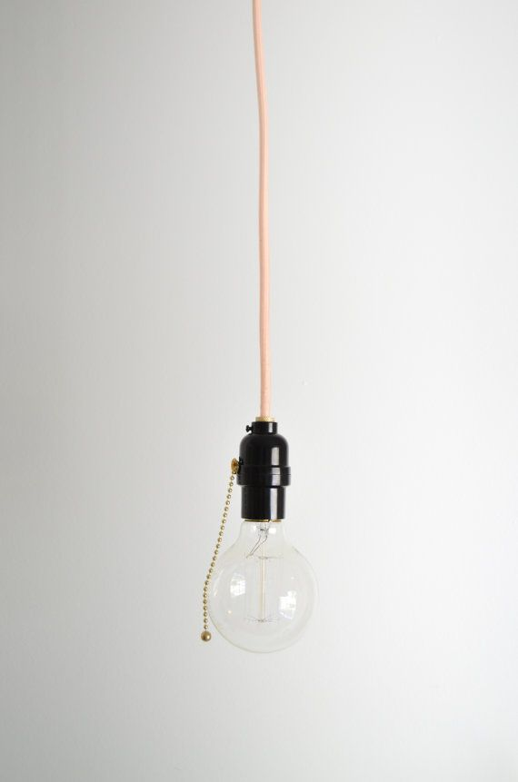 Pull Chain Utility Light Hanging Pendant Lamp By Triplesevenhome
