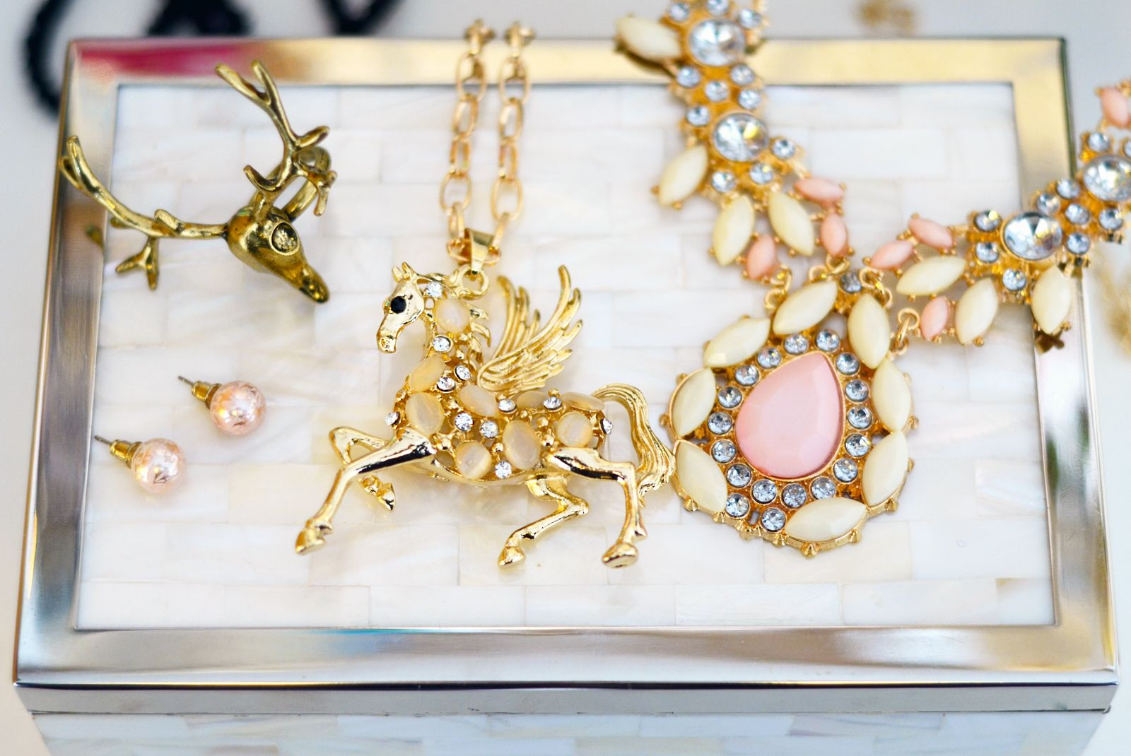How to clean and care for your fashion jewellery gold deer