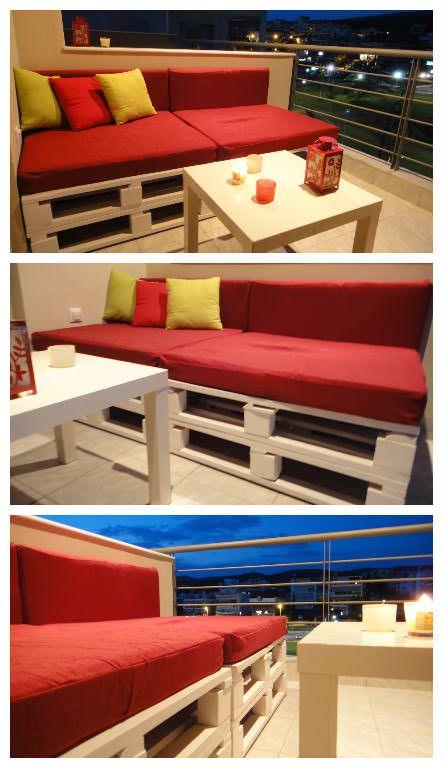 Balcony Pallet Project Pallet Furniture Wooden Pallet 640 x 480