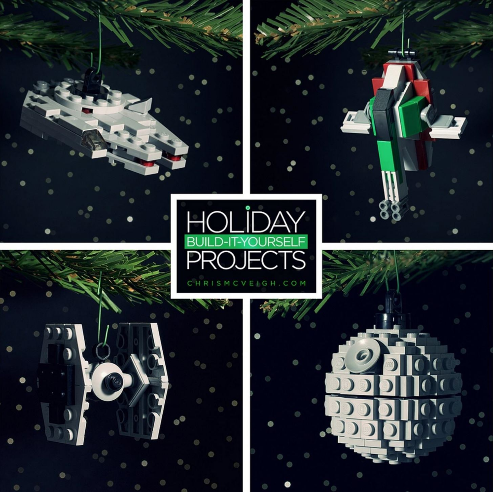 How To Build Star Wars Christmas Tree Ornaments Out Of Legos Star Wars Christmas Tree Lego Christmas Ornaments Star Wars Diy
