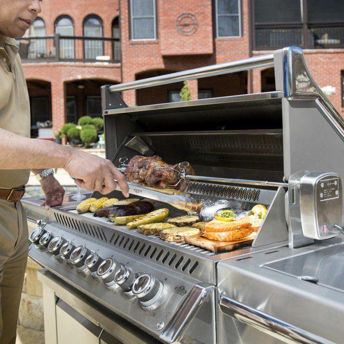 Outdoor Küche und Gartenküche Varianten, Materialien und Anbieter - edelstahl outdoor küche